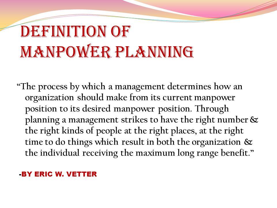 Manpower planning concept for powerpoint slidemodel.