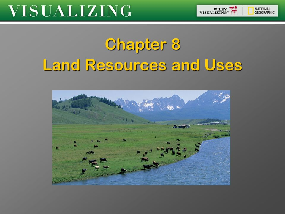 Chapter 8 Land Resources and Uses