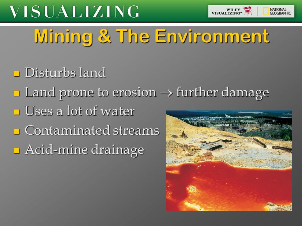Mining & The Environment