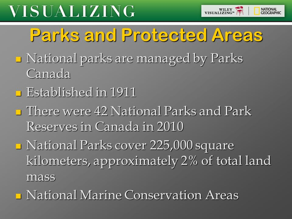 Parks and Protected Areas