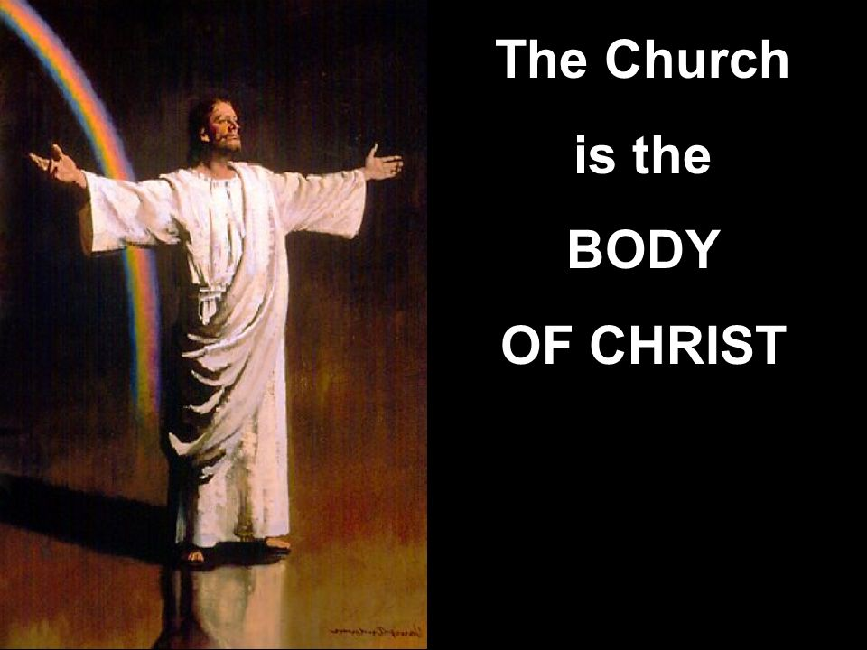 The Church is the BODY OF CHRIST