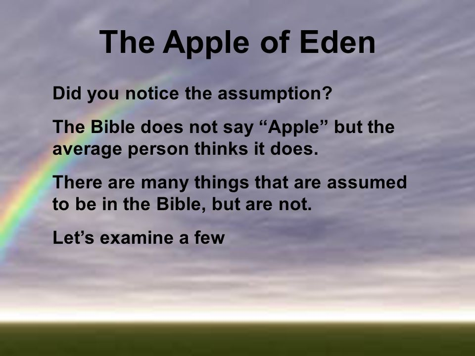 uk availability b6fe1 171ee The Apple of Eden. - ppt video online download