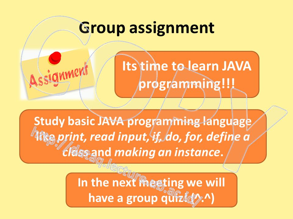 Object Oriented Programming Class - ppt video online download