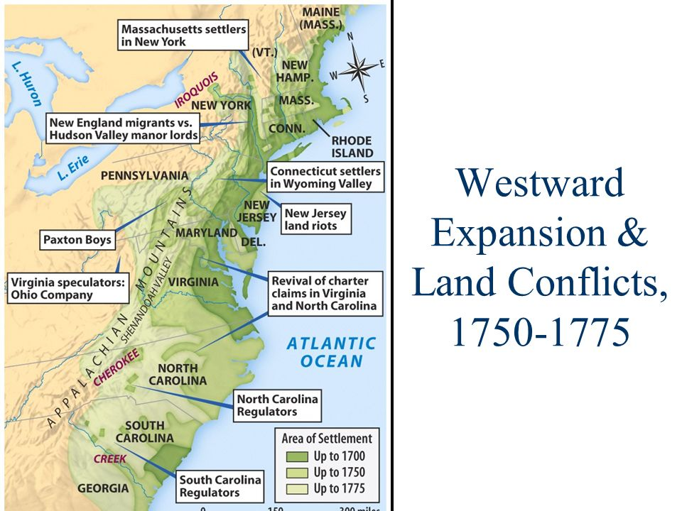Westward Expansion & Land Conflicts,