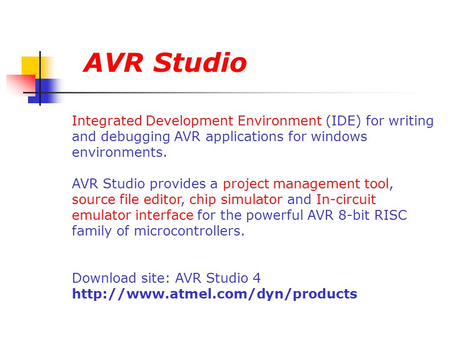 AVR Microcontrollers  - ppt video online download