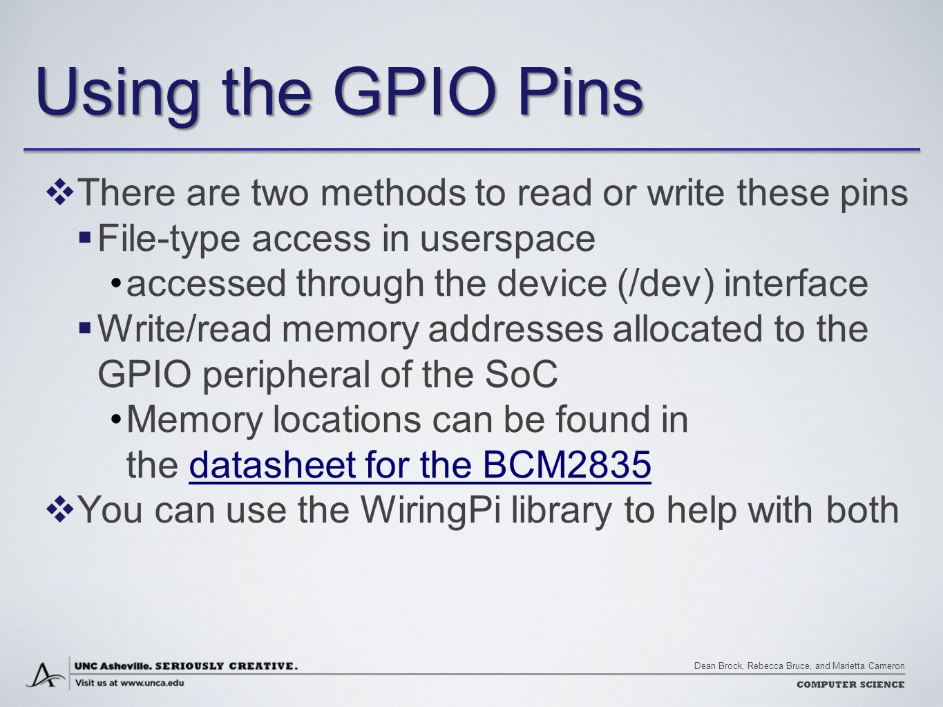 Wiringpi Gpio Functions Controlling The World With Raspberry Pi Ppt Download Using Pins There Are Two Methods To Read Or Write These