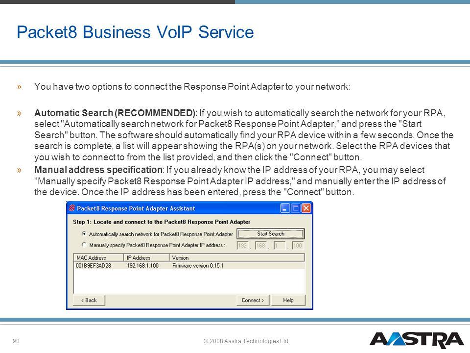 2008 Aastra Technologies Ltd  - ppt download