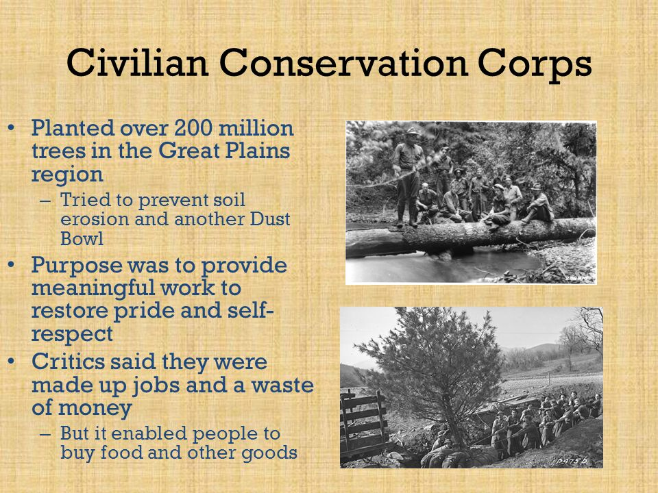 civilian conservation corps slogan