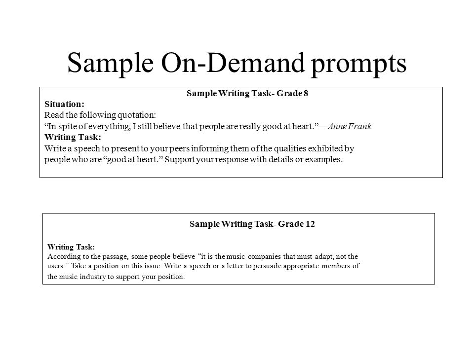 persuasive writing examples grade 8