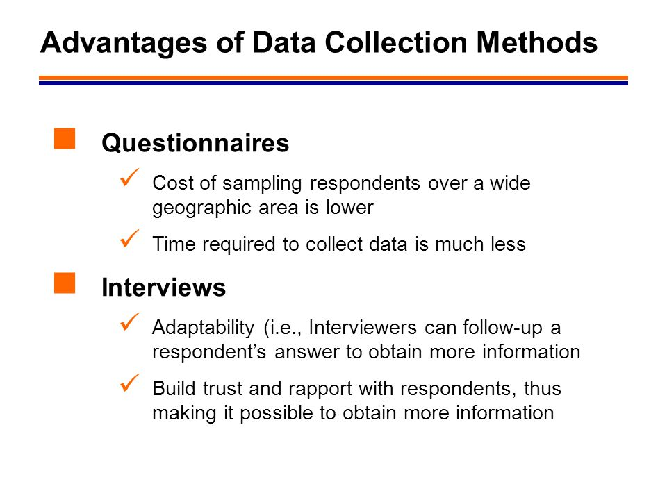 interview method of data collection