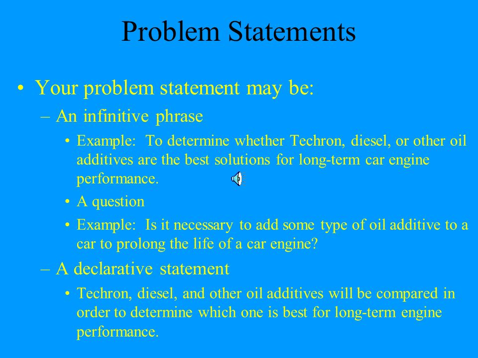 Report writing a report is an orderly and objective communication of 10 problem statements flashek Gallery