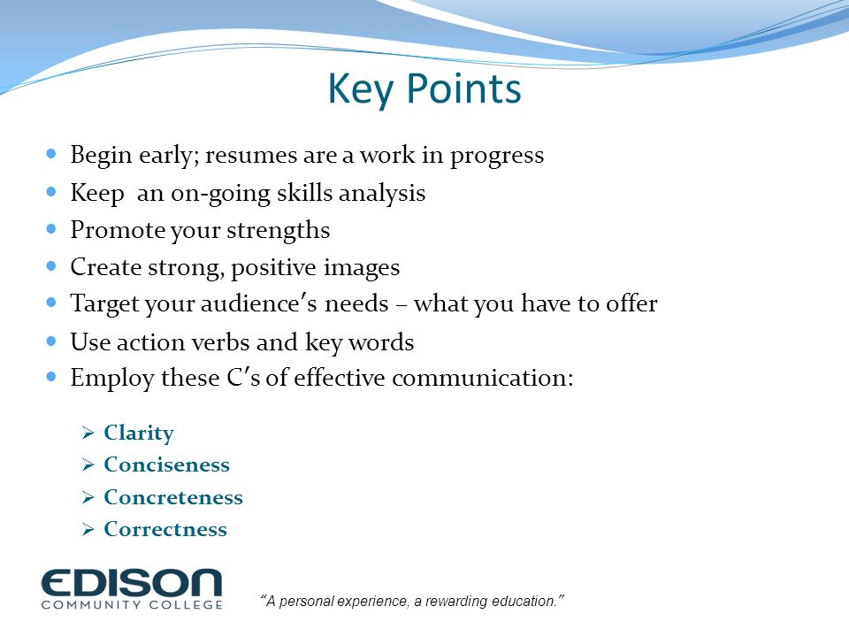 Building a High-Impact Resume - ppt download