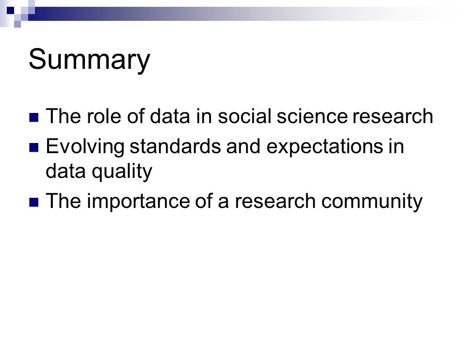 importance of data in research pdf