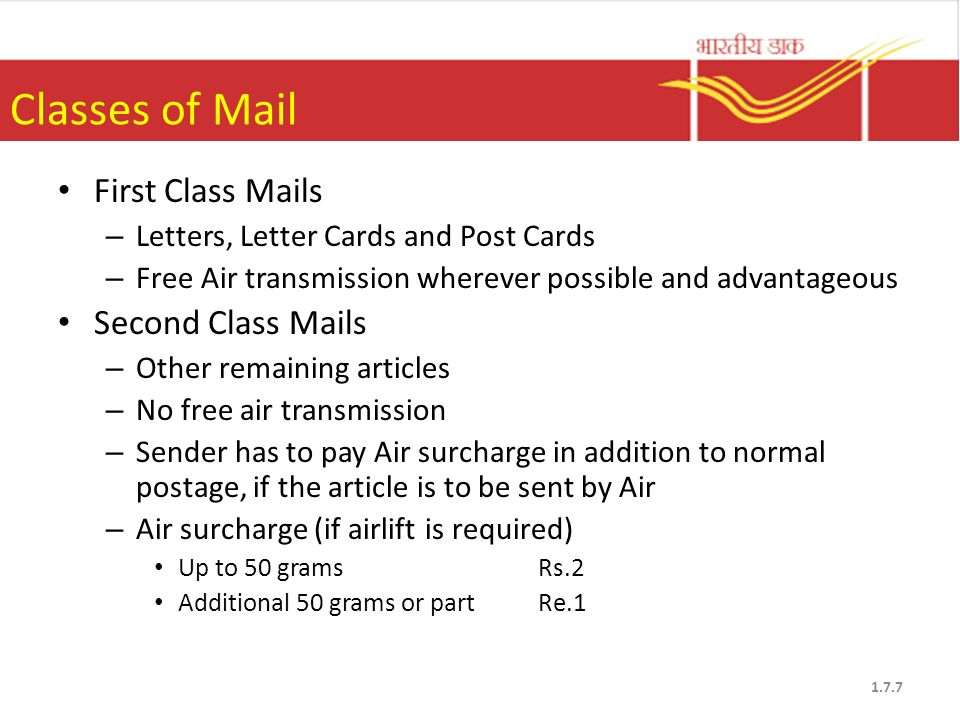 India Post Products & Services ppt