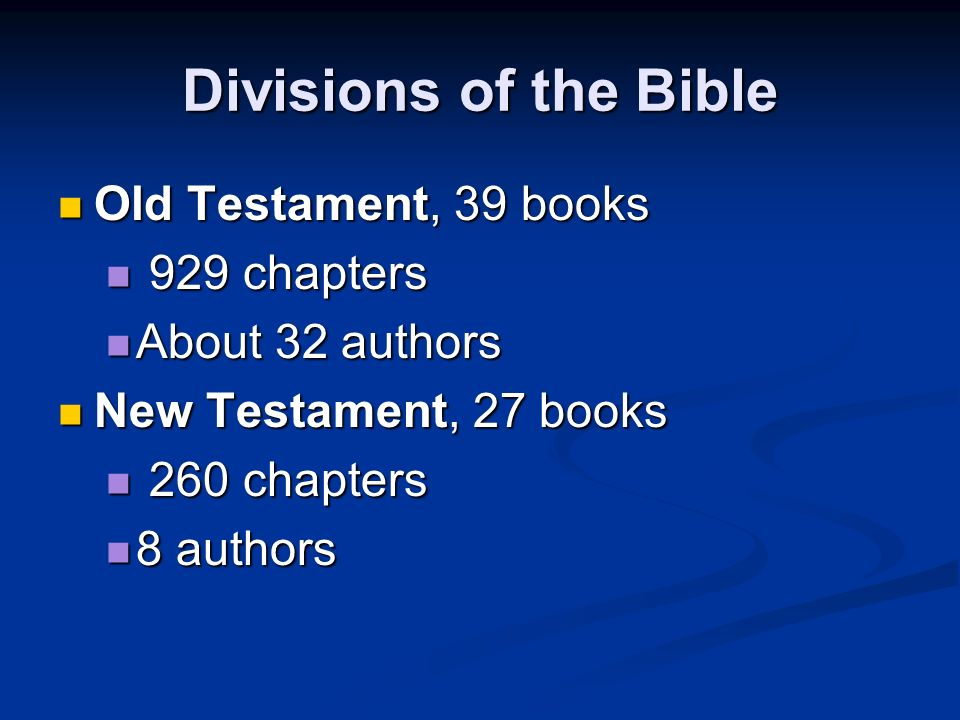 """The Bible is the """"Book of Books,"""" composed of many books  - ppt download"""