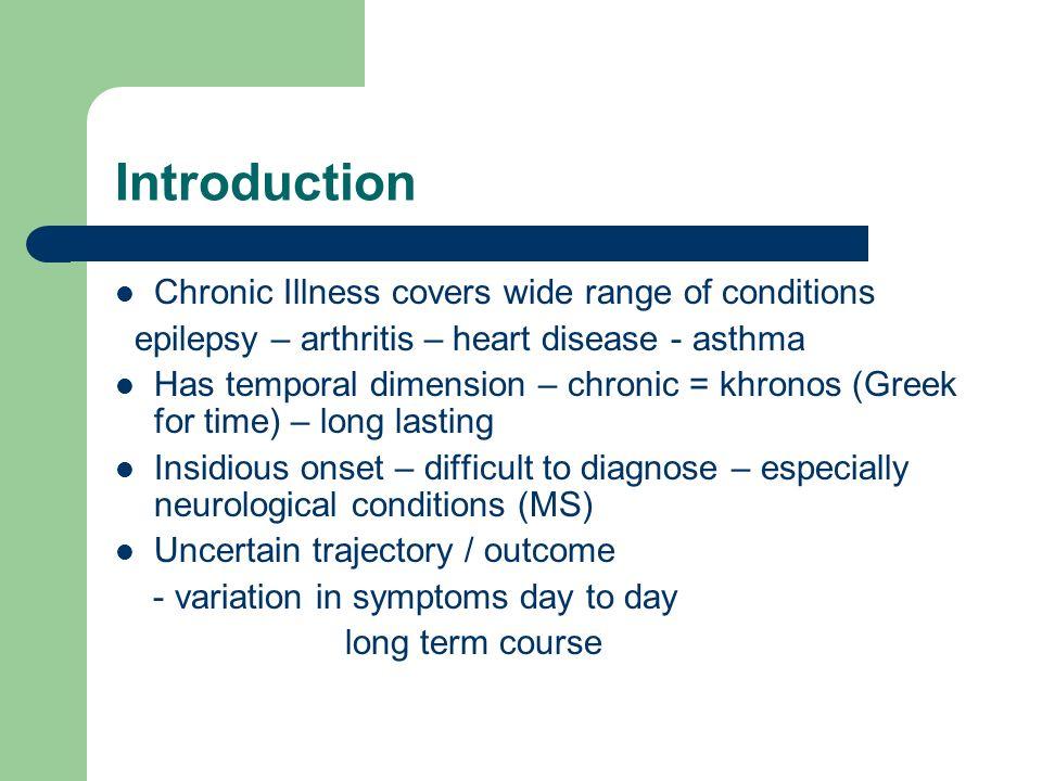 chronically ill definition