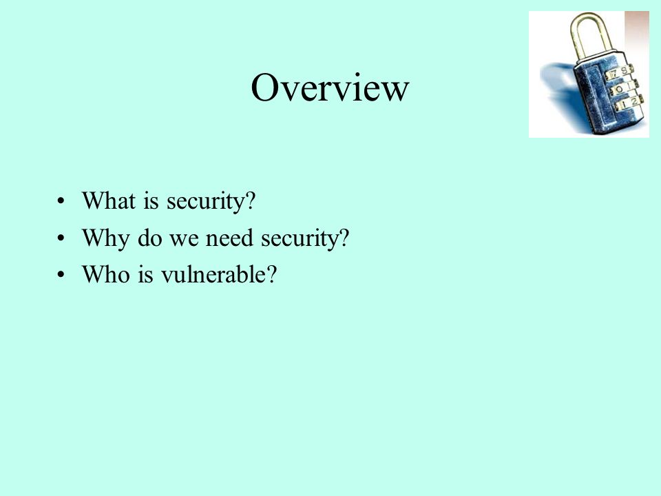 Security in Computer System 491 CS-G(172)