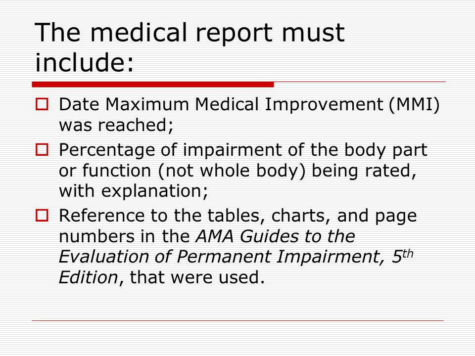 A review of the ama guides to the evaluation of permanent impairment.