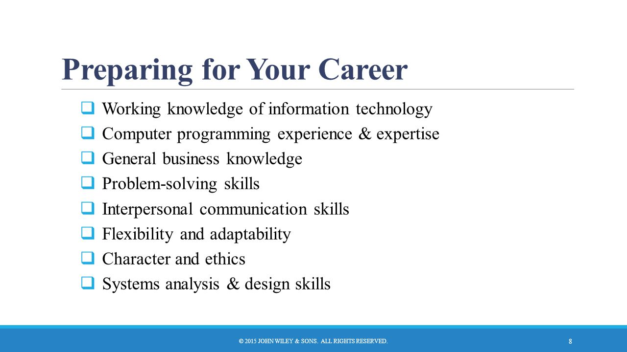 The Systems Analyst And Information Systems Development Ppt Video Online Download