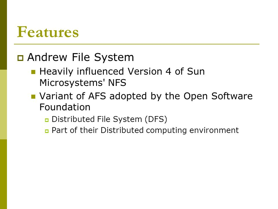 Distributed File Systems - ppt download
