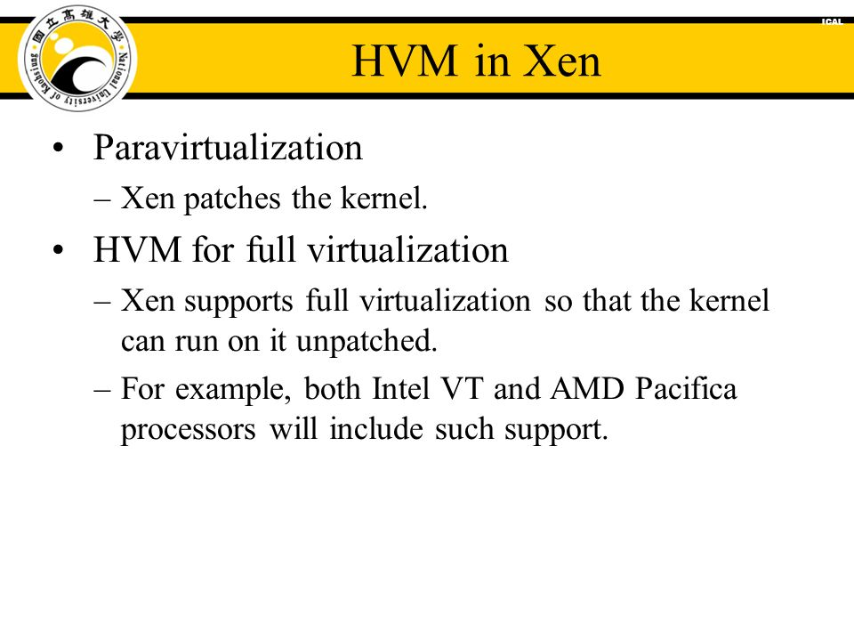 An Introduction To Xen Prof Chih Hung Wu Ppt Download