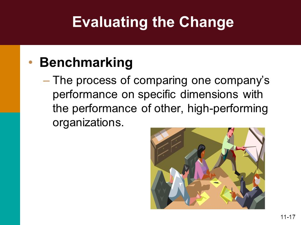 Evaluating the Change Benchmarking