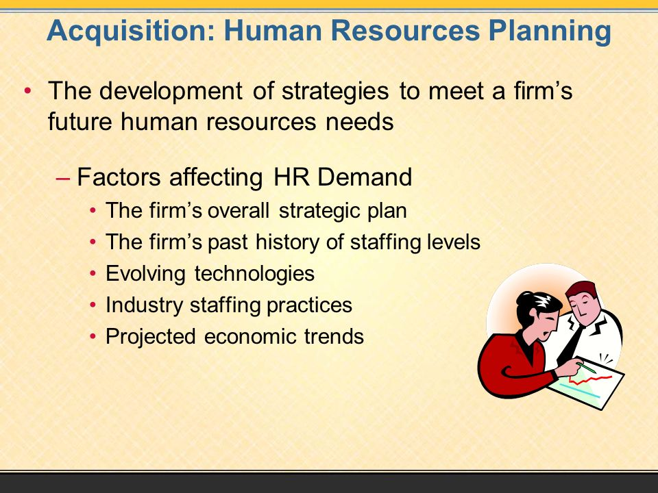 Acquisition: Human Resources Planning