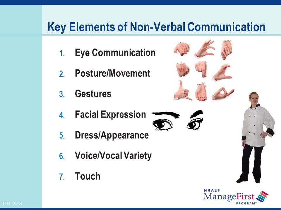 Posture gestures facial expressions ppt #6