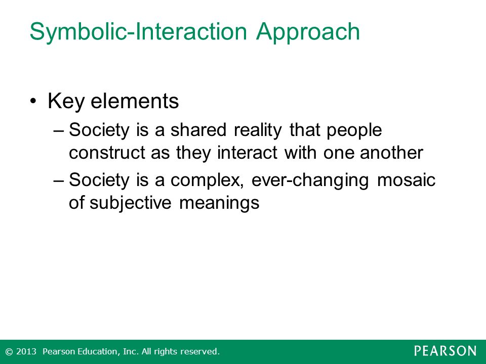 Symbolic-Interaction Approach