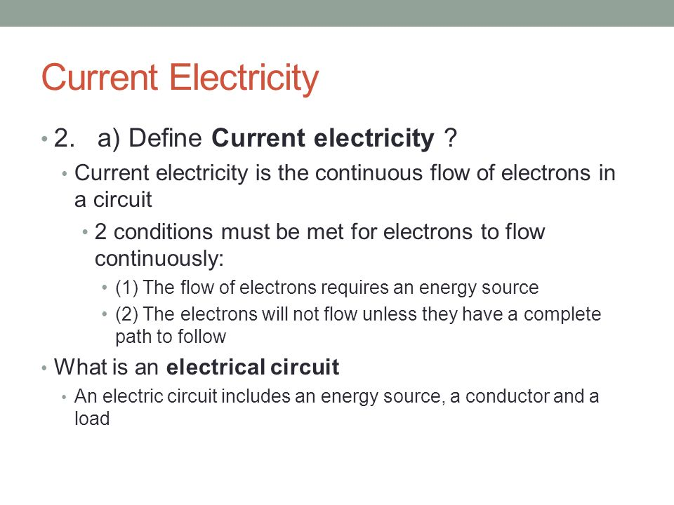 The Control of Electricity in Circuits - ppt video online download
