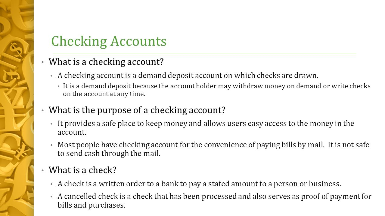 What is a deposit