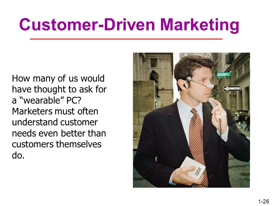 Customer-Driven Marketing
