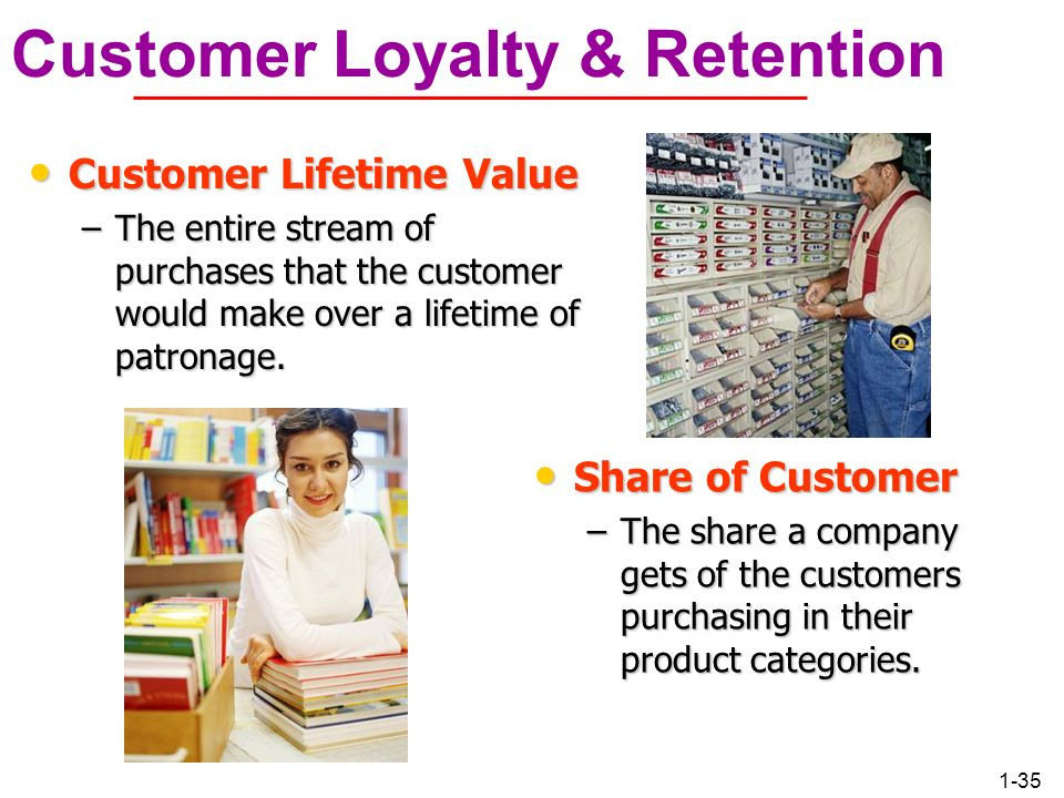 Customer Loyalty & Retention