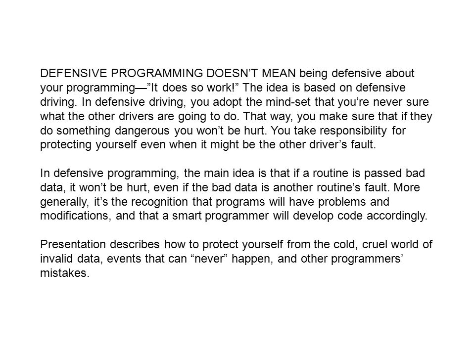 Code Complete Steve McConnell  - ppt download