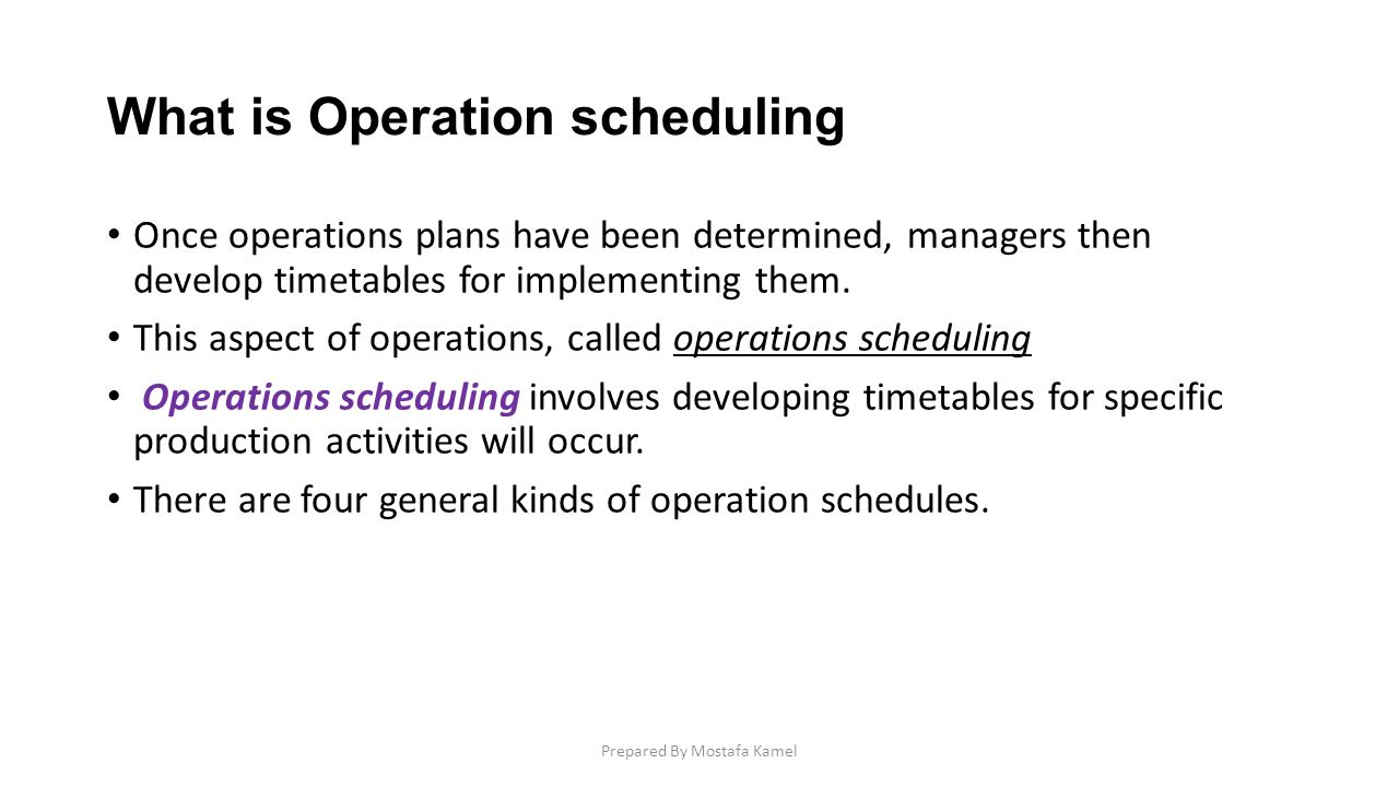 What is operation? 15
