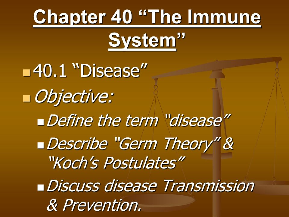 Chapter 40 The Immune System