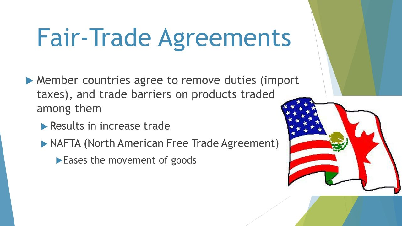Fair-Trade Agreements