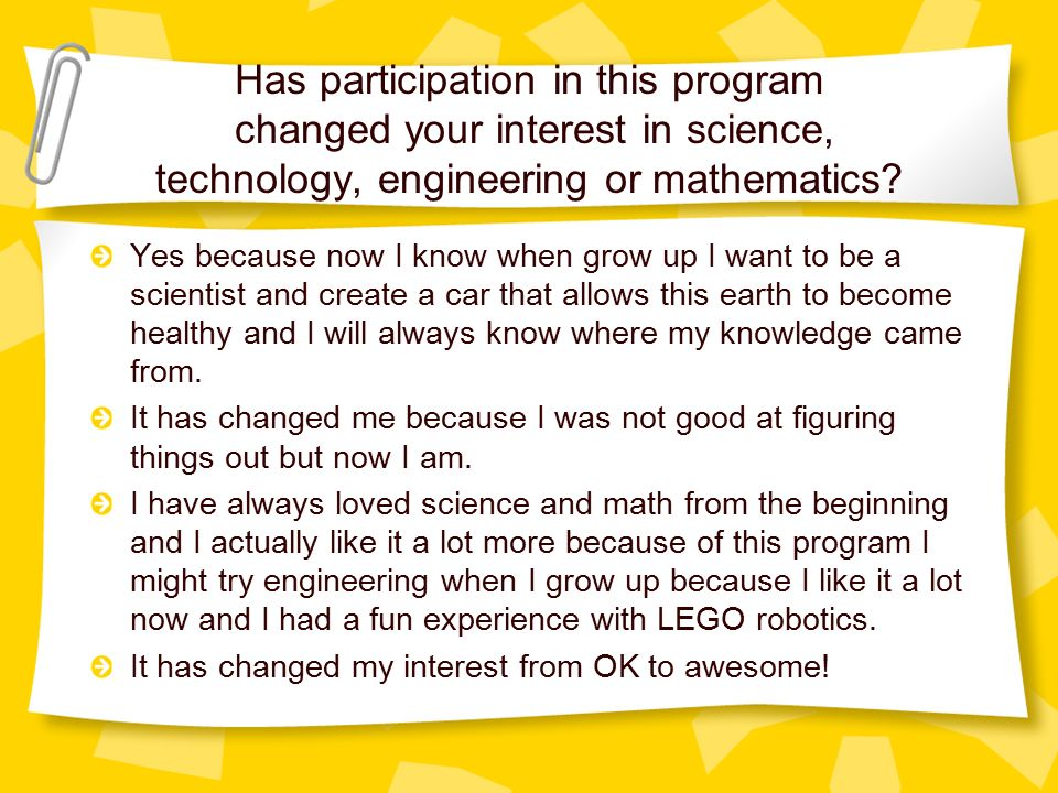 i want to be a scientist when i grow up