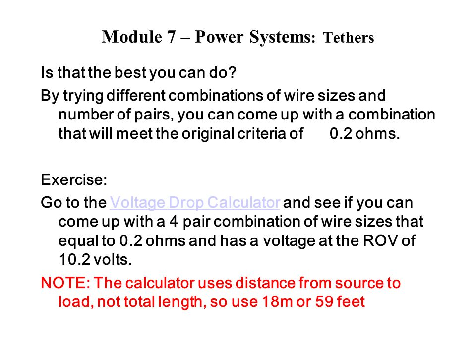 Module 7 power systems tethers ppt download 18 module greentooth Image collections