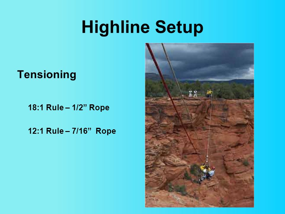 rigging overview updated aug 7, ppt video online download Technical Rescue Rope Rigging Diagrams 25 highline
