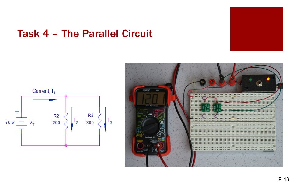 Task 4 – The Parallel Circuit