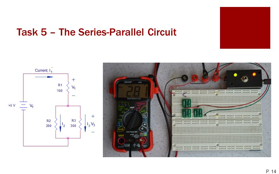 Task 5 – The Series-Parallel Circuit