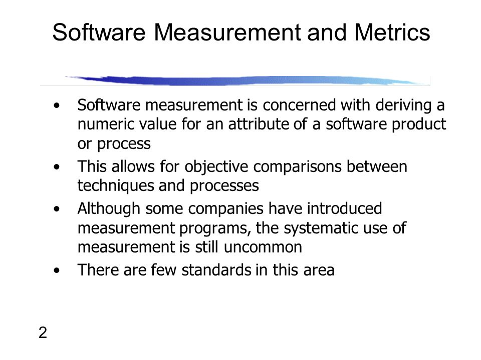 Lecture 17 Software Metrics - ppt video online download