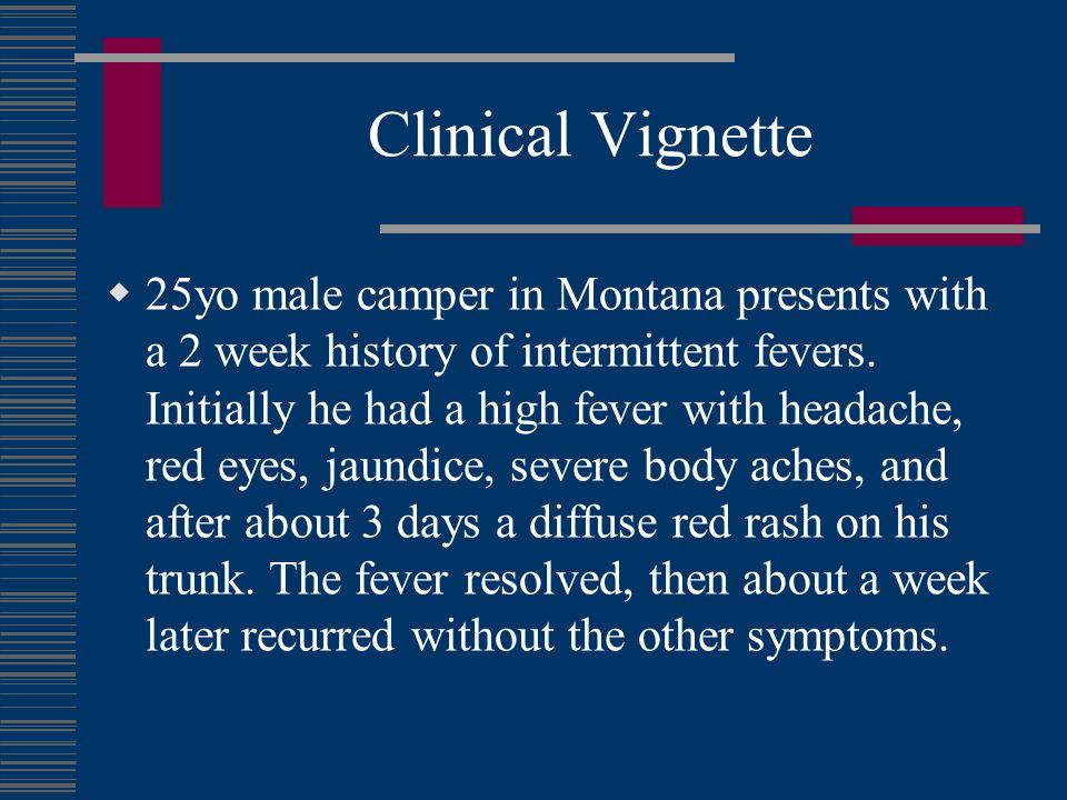 Clinical Vignette