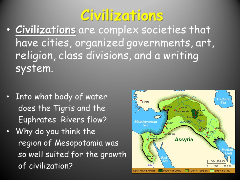 the growth of civilization
