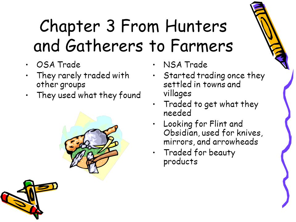 Chapter 3 From Hunters and Gatherers to Farmers