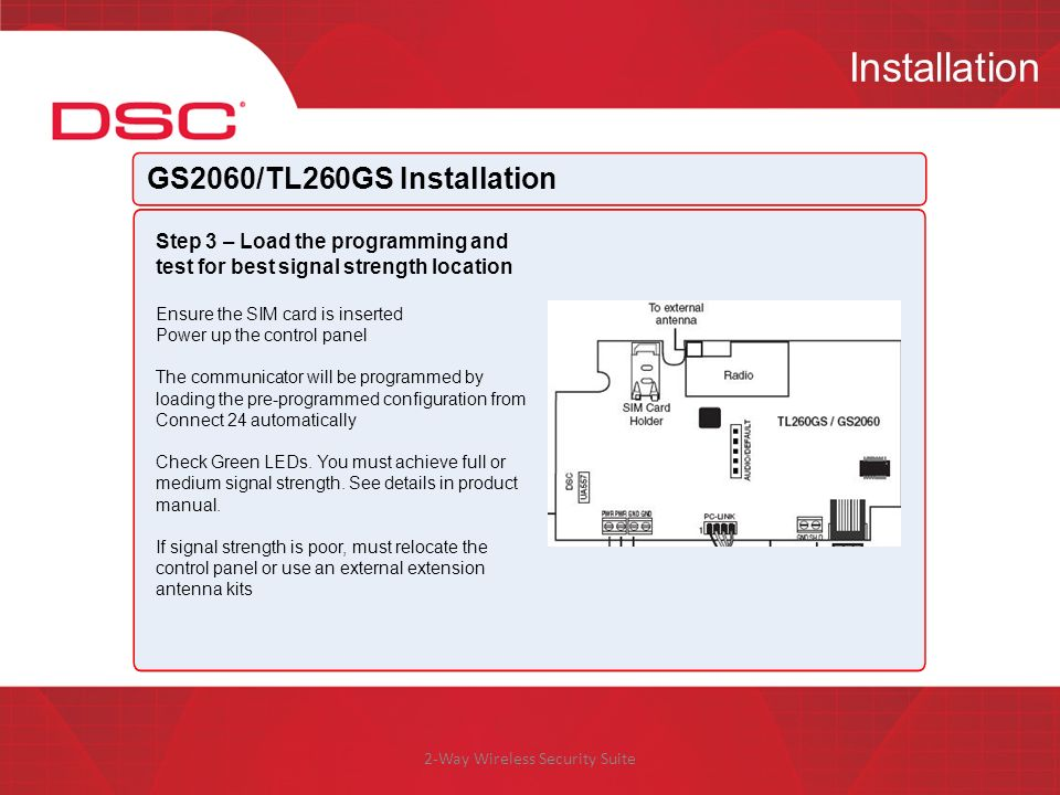 GS2060/TL260GS Product Technical Training - ppt video online download