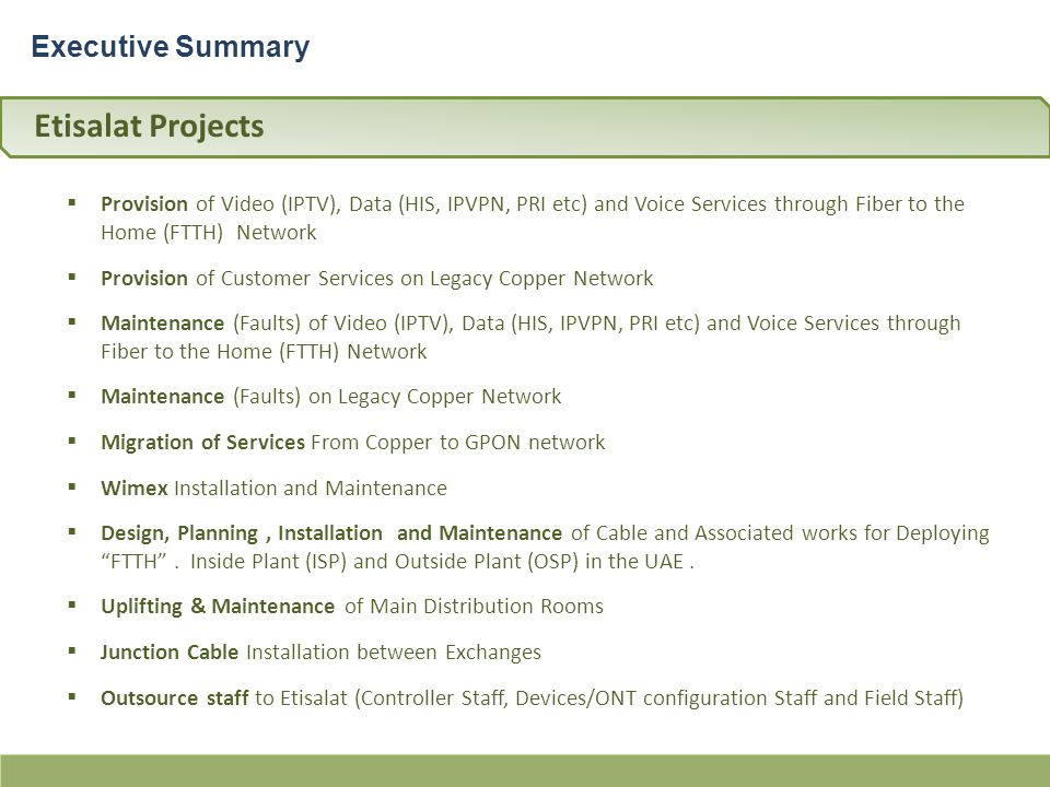Etisalat & du Services Partner شريك خدمات لـــ إتصالات, به