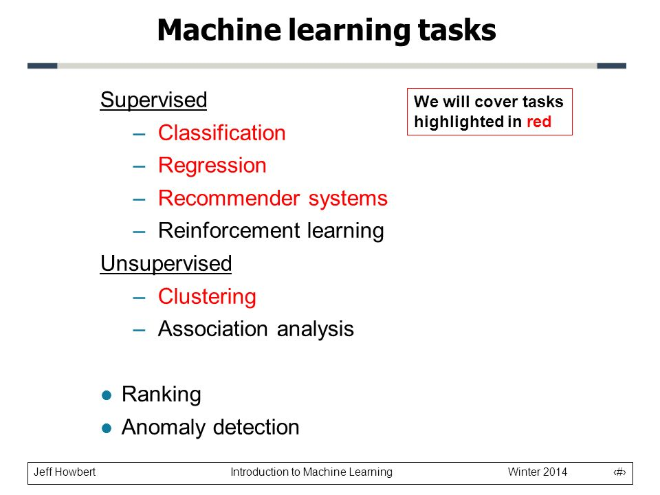 Machine Learning Introduction - ppt video online download