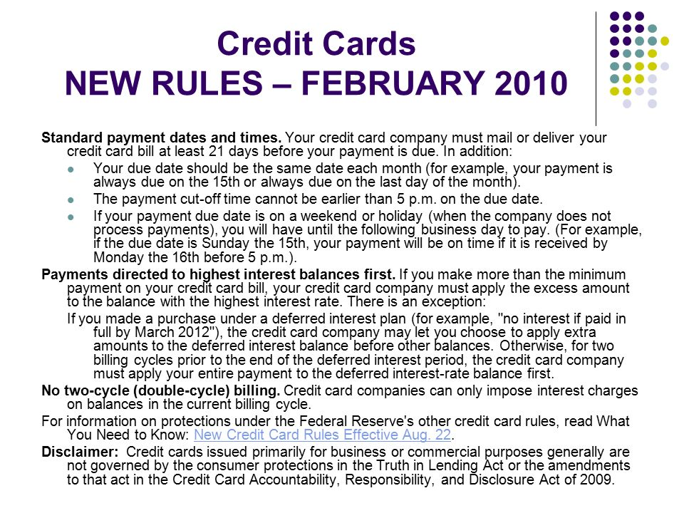 Using Credit Wisely Part II Ppt Download - Company credit card policy template